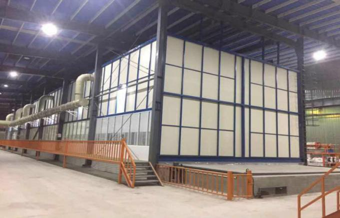 Running Speed 10-20m/Min Hot Dip Galvanizing Machine Steel Substrate With Cooling Tank