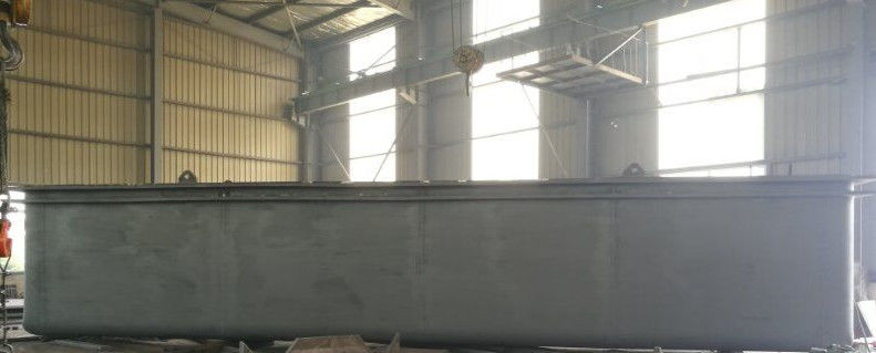 PE Sheet Water Zinc Tank With Galvanized Steel Panel / Sheet Molding Compound