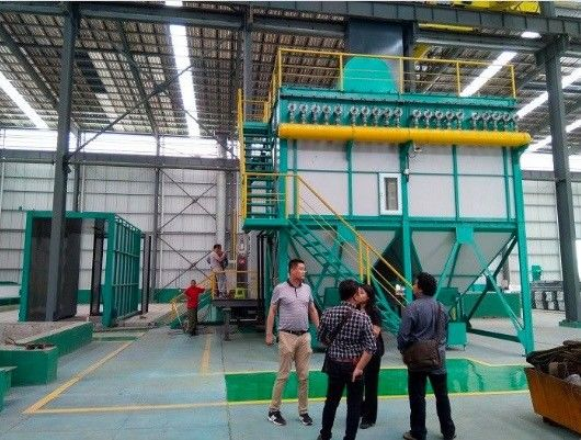 Zinc Hot Dip Galvanizing Equipment With Flue Gas Waste Heat Utilization System