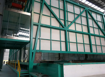 China ISO9001 Hot Dip Galvanizing Equipment With Flue Gas Waste Heat Utilization System distributor